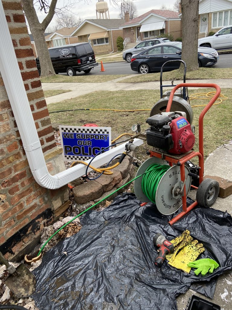 drainage cleaning gary